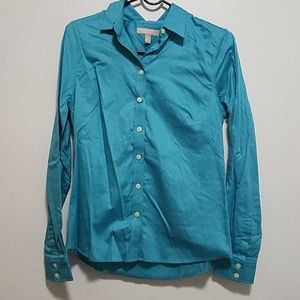 EUC BR Non-Iron Fitted Button down shirt , 8P